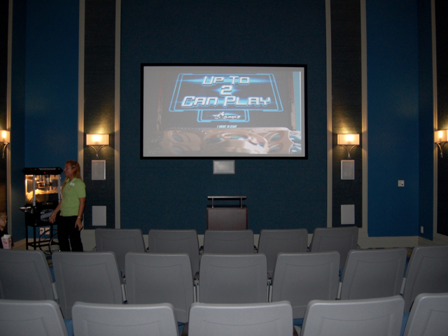 The Oasis Clubhouse - Theater Room