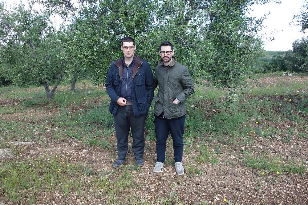Claudio and Francesco Cariello