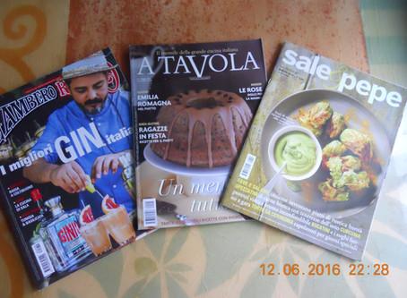 Italian food magazines