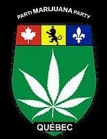 7- Logo Parti Marijuana pour fond blanc.