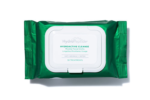 Hydropeptide HydroActive Facial Cleansing Wipes