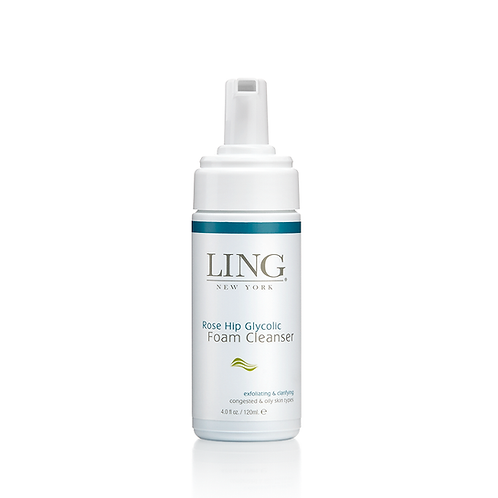 LING NY Rosehip Glycolic Foam Cleanser