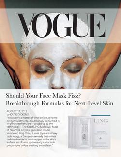 Vogue Sparkling Makeover Mask