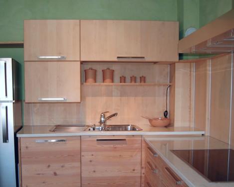 Cucina in Larice e Betulla