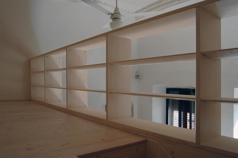 Libreria soppalcata