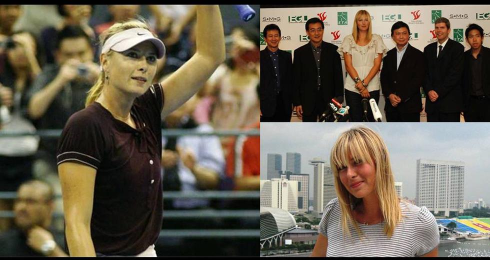 Maria Sharapova Live