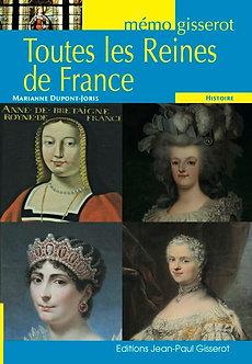Toutes les reines de France