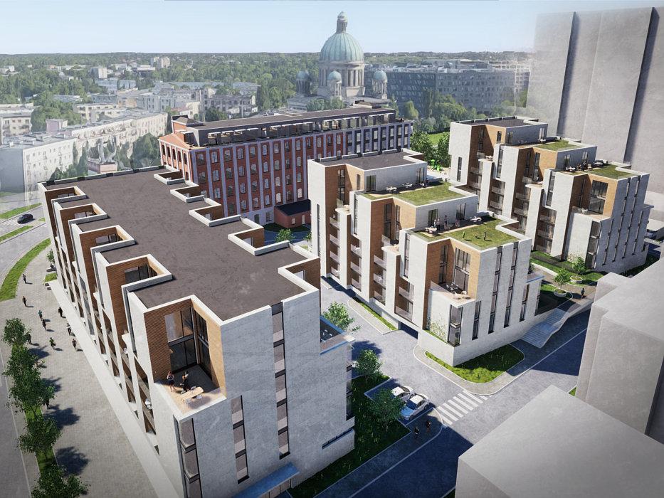 Osiedle mieszkaniowe Wierzbowa w Łodzi