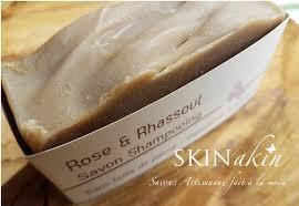 Shampoing Savon Rhassoul et rose