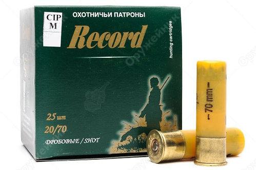 Патрон 20/70 №00 24 г Рекорд (в пачке 25 шт, цена 1 патрона)