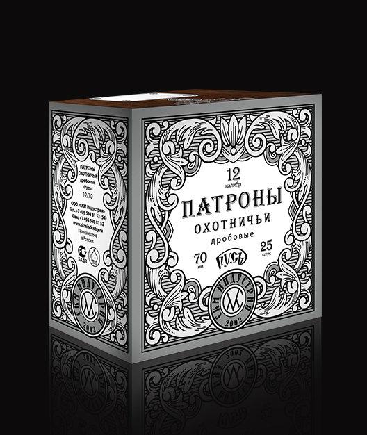 Патрон 12/70 №3 32 г СКМ Русь (в пачке 25 шт, цена 1 патрона)