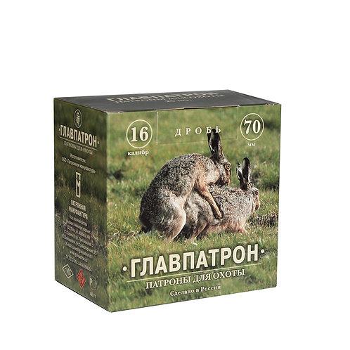 Патрон 16/70 №00 28 г Главпатрон (в пачке 25 шт, цена 1 патрона)