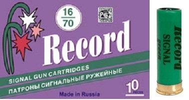 Копия Патрон 16/70 Record сигнальные