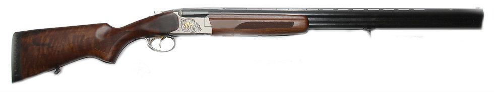 Ружье МР-27М 12х76 орех никель (грав. Медведь-Кабан)