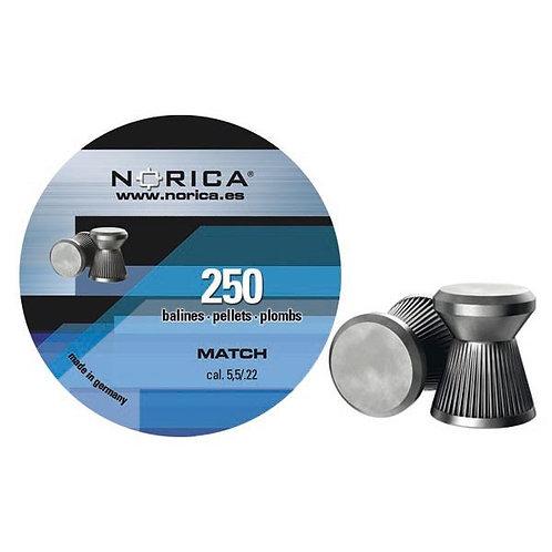 Пули Norica Match 5,5 мм, 0,85 грамма, 150 штук