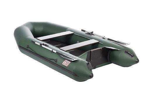 Лодка Капитан Т310 (киль+пол) зеленая