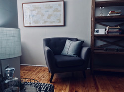 Dave Swart's therapy space