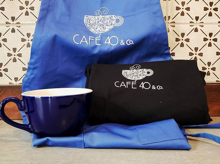 Aprons, t-shirts, and mugs are in! What