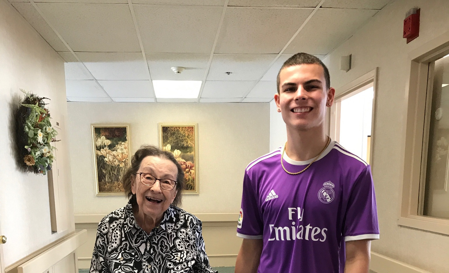 Volunteer With Resident
