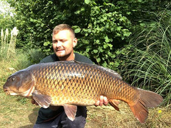 Team member Mark Bagshsaw nailed this 25