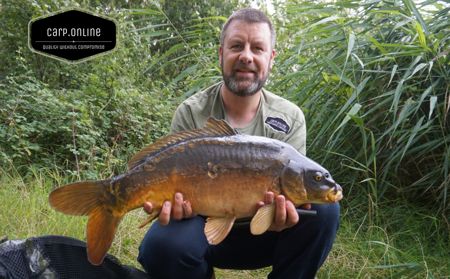 Mark Russell 14lb 12oz Mirror