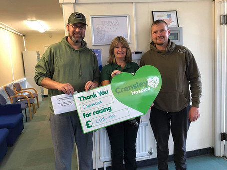 Carp Tackle Online Charity Social September - Thanks to Bev Bosworth from Naesby Reservoir