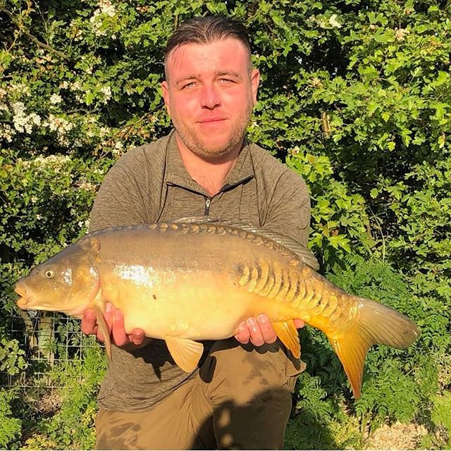 But then again it's also about bagging a few fish, like _carpstu82 Stuart Sturton back on B2