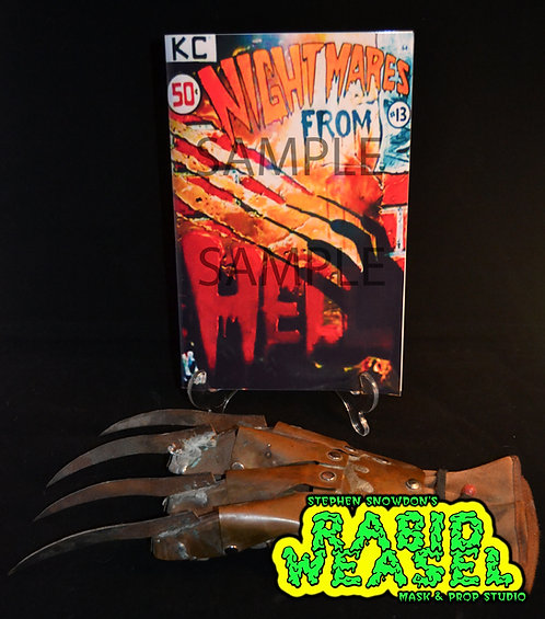 nightmares from hell comic replica