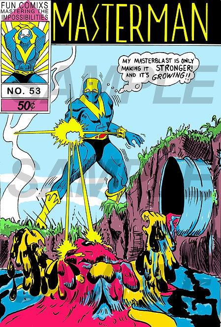 "Return of the living dead 2 ""Masterman Comic"""