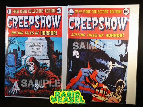 Creepshow Comic Cover Replicas