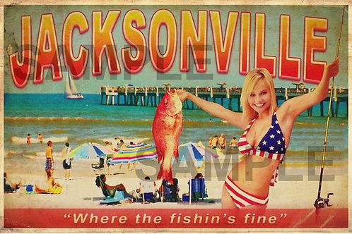 Ash vs Evil Dead - Jacksonville postcard