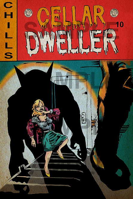 Cellar Dweller Comic Print