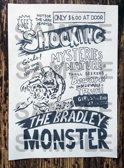 "Basket Case 2 ""Bradley Monster Poster"""