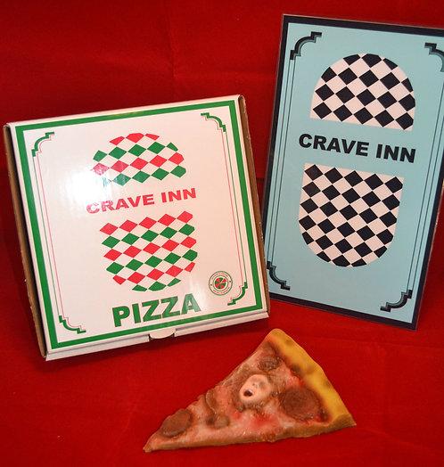 Nightmare on Elm Street Soul Pizza Slice
