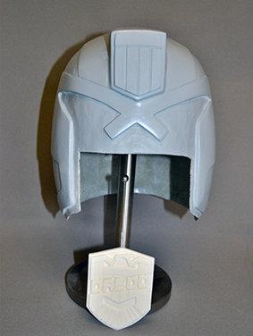 Raw Dredd Helmet Casting