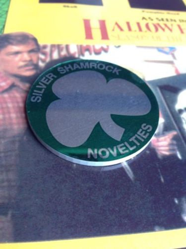 Silver Shamrock Chip