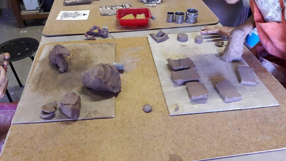 la poterie : une recherche de créativité