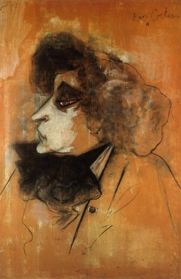 Colette par Jean Cocteau vers 1947