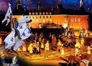 Revivre l'histoire avec le spectacle son et lumière à Saint-Fargeau