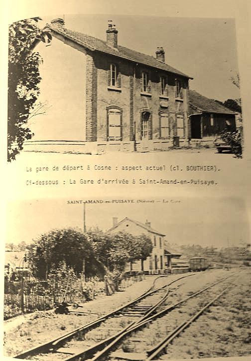 Ancienne gare de St Amand