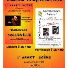 La chanson française à l'honneur à Moûtiers - en Puisaye