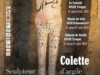 Colette Biquand : Sculpteur d'argile, les liens de la terre de Puisaye