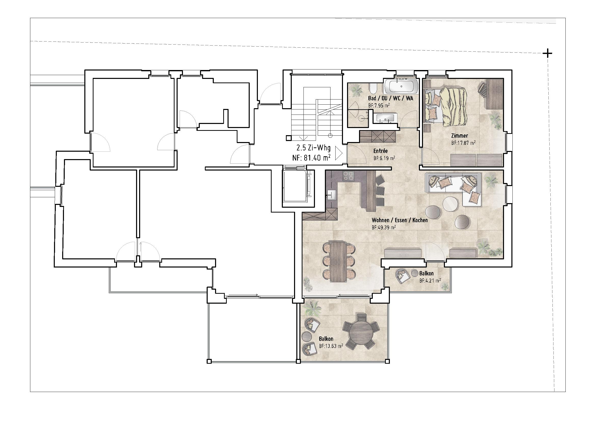 Wohnung 2.5 Zi-Whg