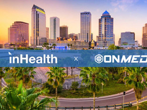 inHealth and OnMed announce partnership to bring popular saliva PCR COVID drive thru to Tampa, FL