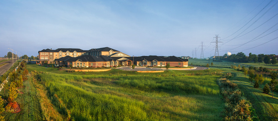 Michuda's $28M Evergreen Senior Living at Parkview Campus NOW OPEN