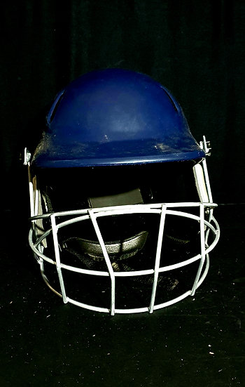 Used Adult Woodworm Navy Blue Helmet