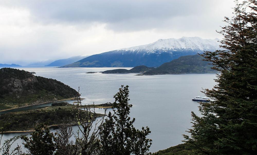 Wulaia Bay Patagonia and Ventus Australis