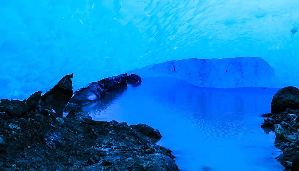 Ice cave Perito Moreno Glacier Patagonia