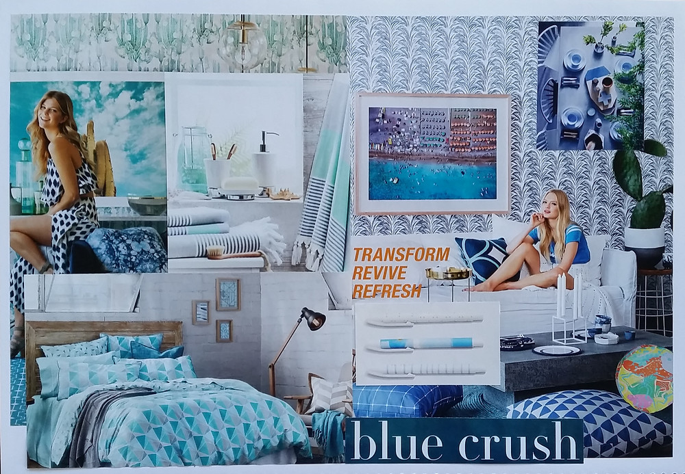 Relaxed Mood Board