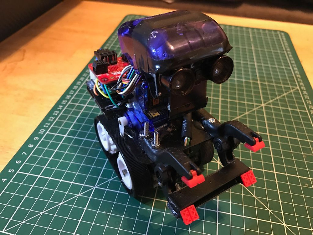 Raspberry Pi Zero Mini Robot